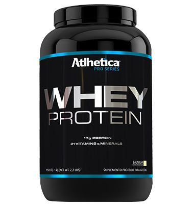 WHEY PROTEIN 1 KG - ATLHETICA NUTRITION