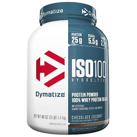 ISO 100 2.3 KG 100% HYDROLIZADO - DYMATIZE (VENC 07/2021)