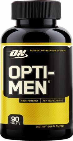 OPTI-MEN 90 CAPSULAS - OPTIMUM NUTRITION