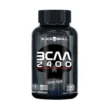 BCAA 2400 100 CÁPSULAS - BLACK SKULL