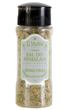 SAL DO HIMALAIA TEMPERADO ERVAS FINAS MOEDOR 90 GR - EL SHADDAI