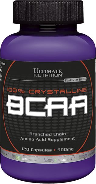 BCAA 500 MG 60 CÁPSULAS - ULTIMATE NUTRITION