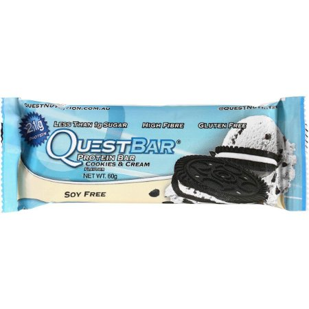 QUEST BAR 60 GR - COOKIE & CREAM
