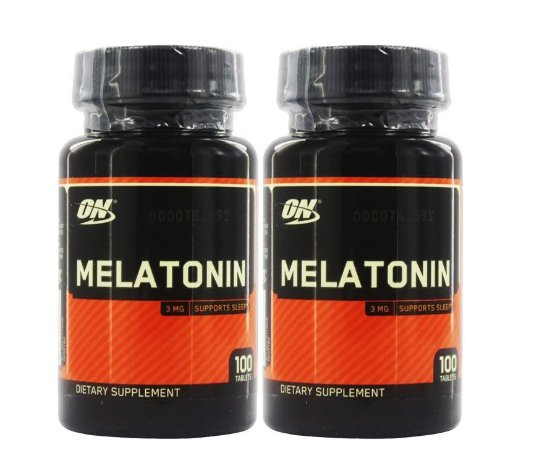 KIT 2 MEL ATON INA 3 MG 100 CÁPSULAS - OPTIMUM NUTRITION