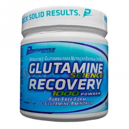 GLUTAMINA RECOVERY 1000 POWDER 300 GR - PERFORMANCE NUTRITION