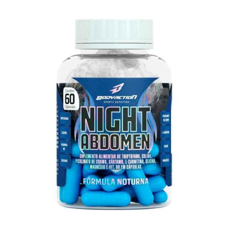 NIGHT ABDOMEN - 60 CÁPSULAS - BODYACTION
