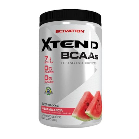 XTEND BCAAs 306 GRAMAS (120 PORÇOES) - SCIVATION