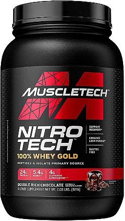 NITRO TECH WHEY GOLD 999 GR - MUSCLETECH
