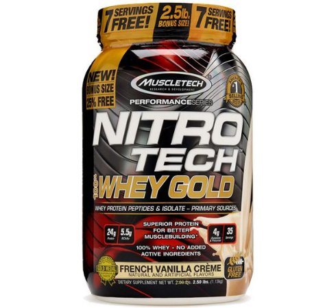 NITRO TECH WHEY GOLD 1.13 KG - MUSCLETECH