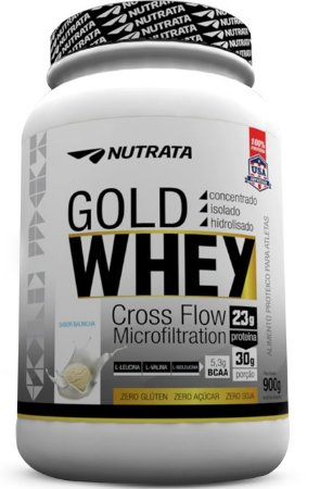 GOLD WHEY 900 GR - NUTRATA