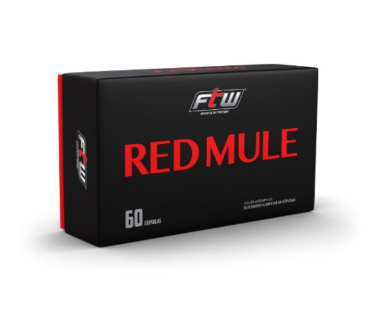 RED MULE 60 CÁPSULAS - FTW SPORTS NUTRITION