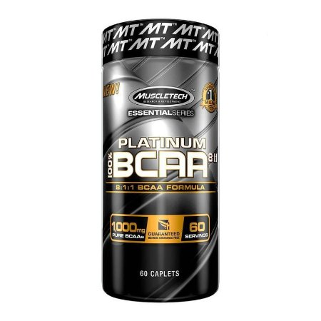 BCAA PLATINUM 8:1:1 60 TABLETS - MUSCLETECH