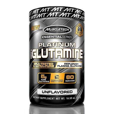PLATINUM 100% GLUTAMINA (300G)-  MUSCLETECH