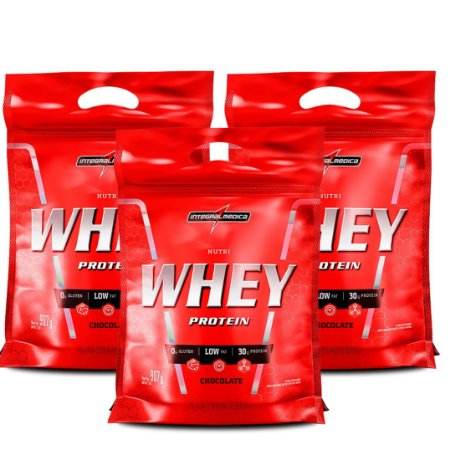 Kit 3X Nutri Whey 907 GR - INTEGRALMEDICA