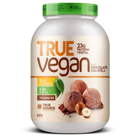 TRUE WHEY VEGAN 837 GRAMAS - TRUE SOURCE