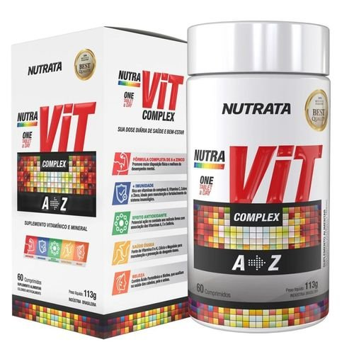 NUTRAVIT COMPLEX 60 COMPRIMIDOS - NUTRATA