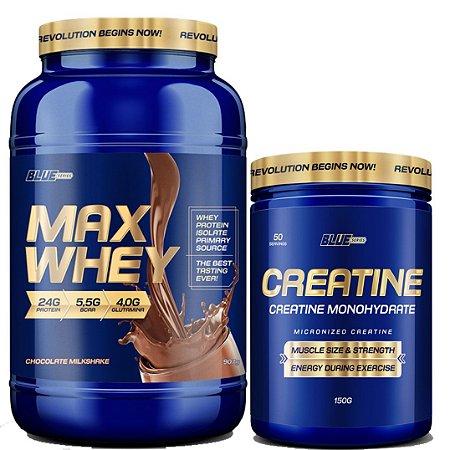 MAXY WHEY 900 GR + BRINDE - BLUE SERIES