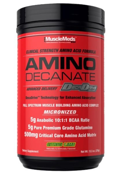 AMINO DECANATE 378 GR - MUSCLEMEDS