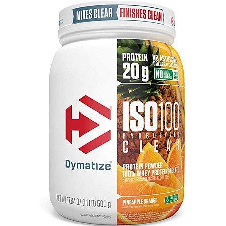ISO 100 CLEAR (500 GR) - DYMATIZE NUTRITION (VENC 01/2021)