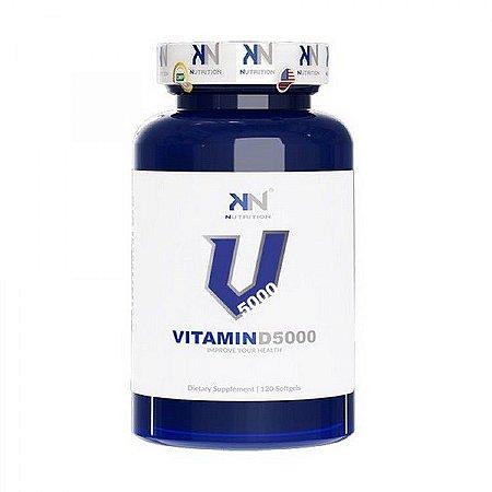 VITAMINA D-3 5.000 IU 120 CÁPSULAS - KN NUTRITION