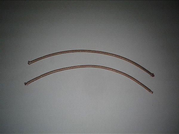 Fio de Cobre com capa de Silicone