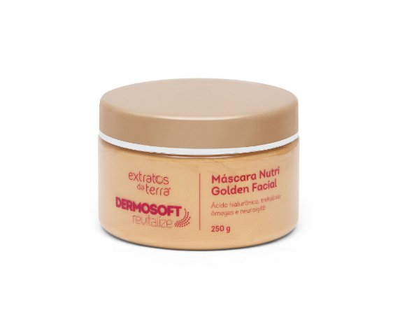 DERMOSOFT REVITALIZE MÁSCARA NUTRI GOLDEN FACIAL 250 G