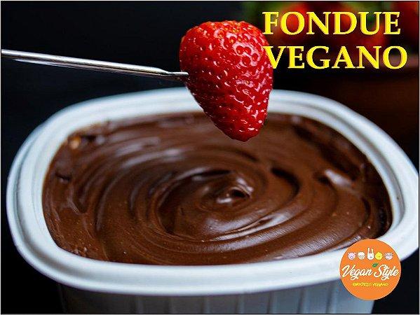 Fondue de Chocolate Vegano