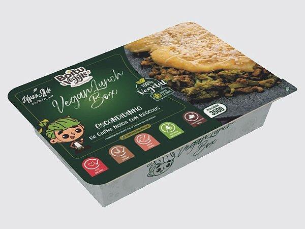 """Escondidinho Vegano de """"Carne"""" Moída c/ Brócolis Ultracongelado 350g"""