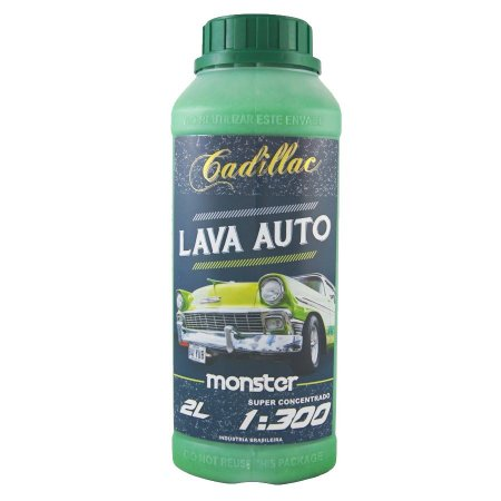 LAVA AUTO MONSTER CADILLAC 2 LITROS