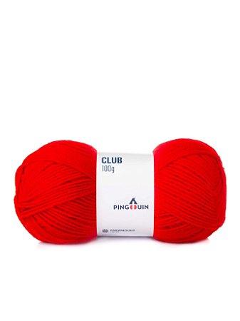 Lã Club 100grs  cor 0314 Tomate Pingouin