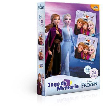 Jogo da Memória Frozen 24 Pares 8030 Toyster
