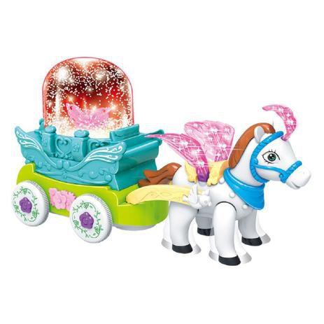 Carruagem Neve Musical DMT5956 Dm Toys