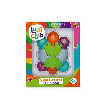 Quebra Cabeça Tartaruga Infantil Ludi Club 519 Usual