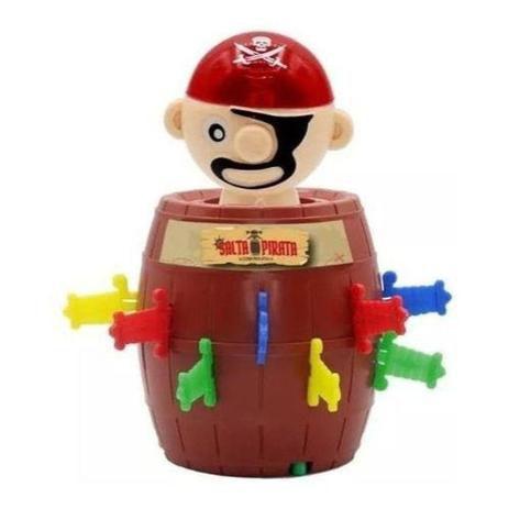 Jogo Salta Pirata com Roleta SP1810-4 Unik Toys