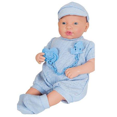 Boneco Ninos Reborn Menino 2181 Cotiplás