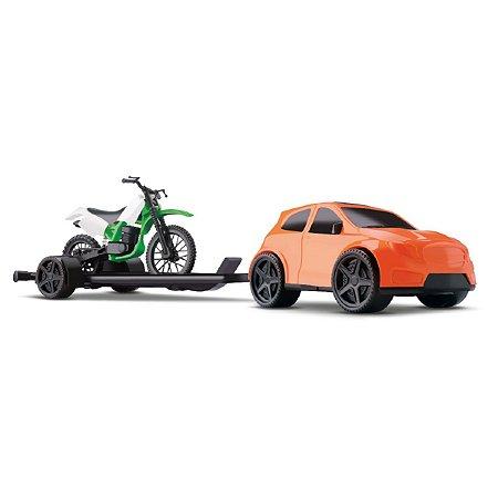 Carro com Motocross 371 Samba