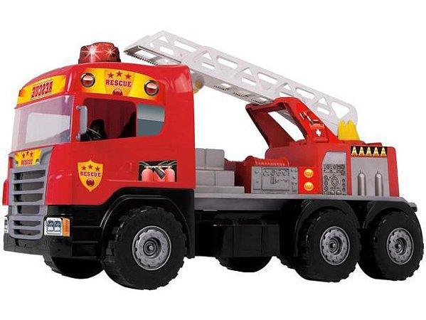 Caminhão Super Bombeiro Fire 5042 Magic Toys