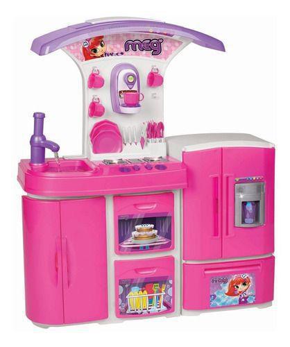 Cozinha Infantil Versátil Super 8031 Magic Toys