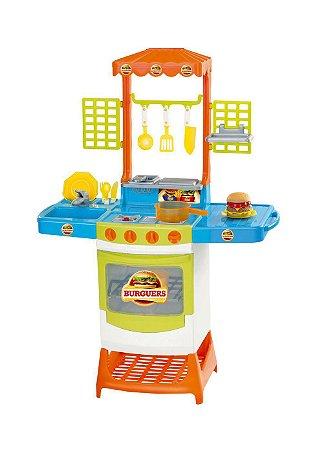 Cozinha Infantil Master Burguers 8023 Magic Toys