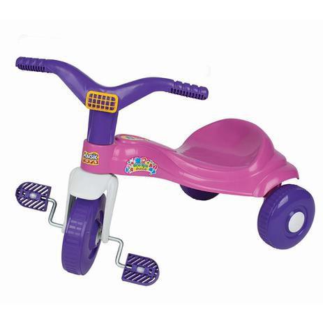 Triciclo Tico-Tico Bala Rosa 2520 Magic Toys