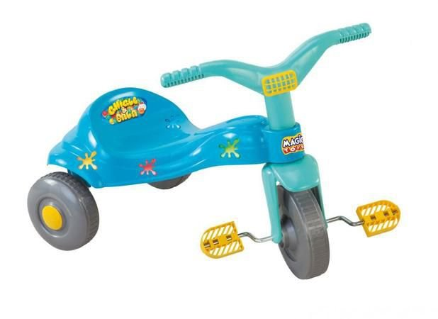 Triciclo Tico-Tico Chiclete Azul 2510 Magic Toys