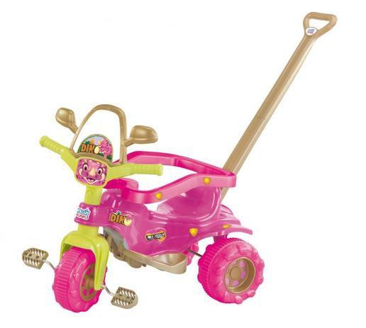 Triciclo Tico-Tico Dino Pink 2804 Magic Toys