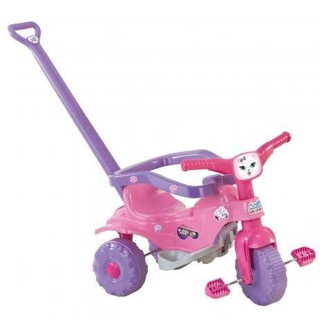 Triciclo Tico-Tico Pets Rosa 2811 Magic Toys