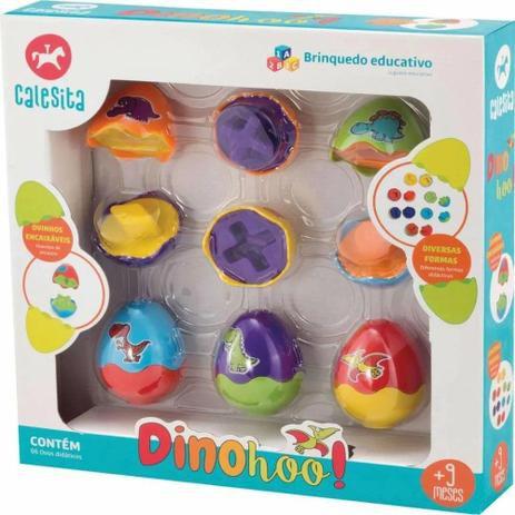 Brinquedo de Encaixe Dinohoo 861 - Tateti Calesita