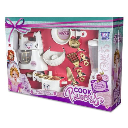 Kit de Cozinha Cook Princesa 7865 Zuca Toys