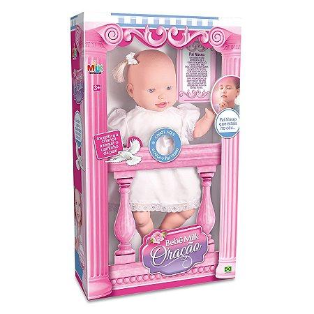 Boneca Bebê Oração 344 - Milk