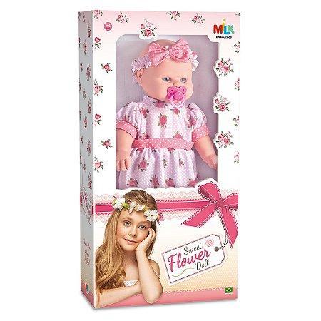 Boneca Sweet Flower Doll 188 - Milk