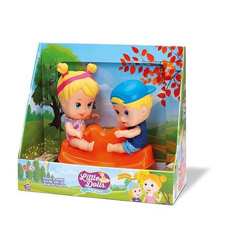 Boneca Little Dolls Gangorra 8097 - Divertoys