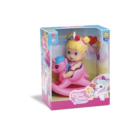 Boneca Little Dolls Unicórnio 8043 - Divertoys