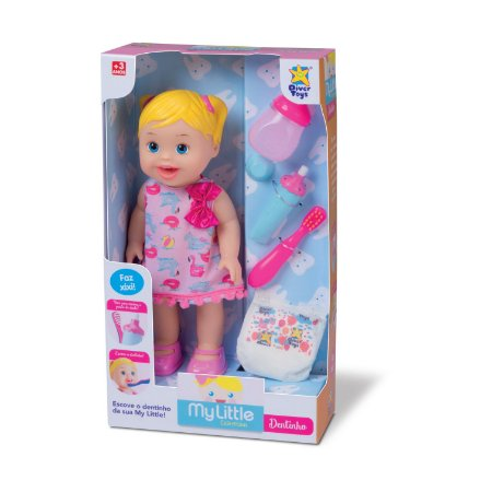 Boneca My Little Dentinho 8035 Divertoys
